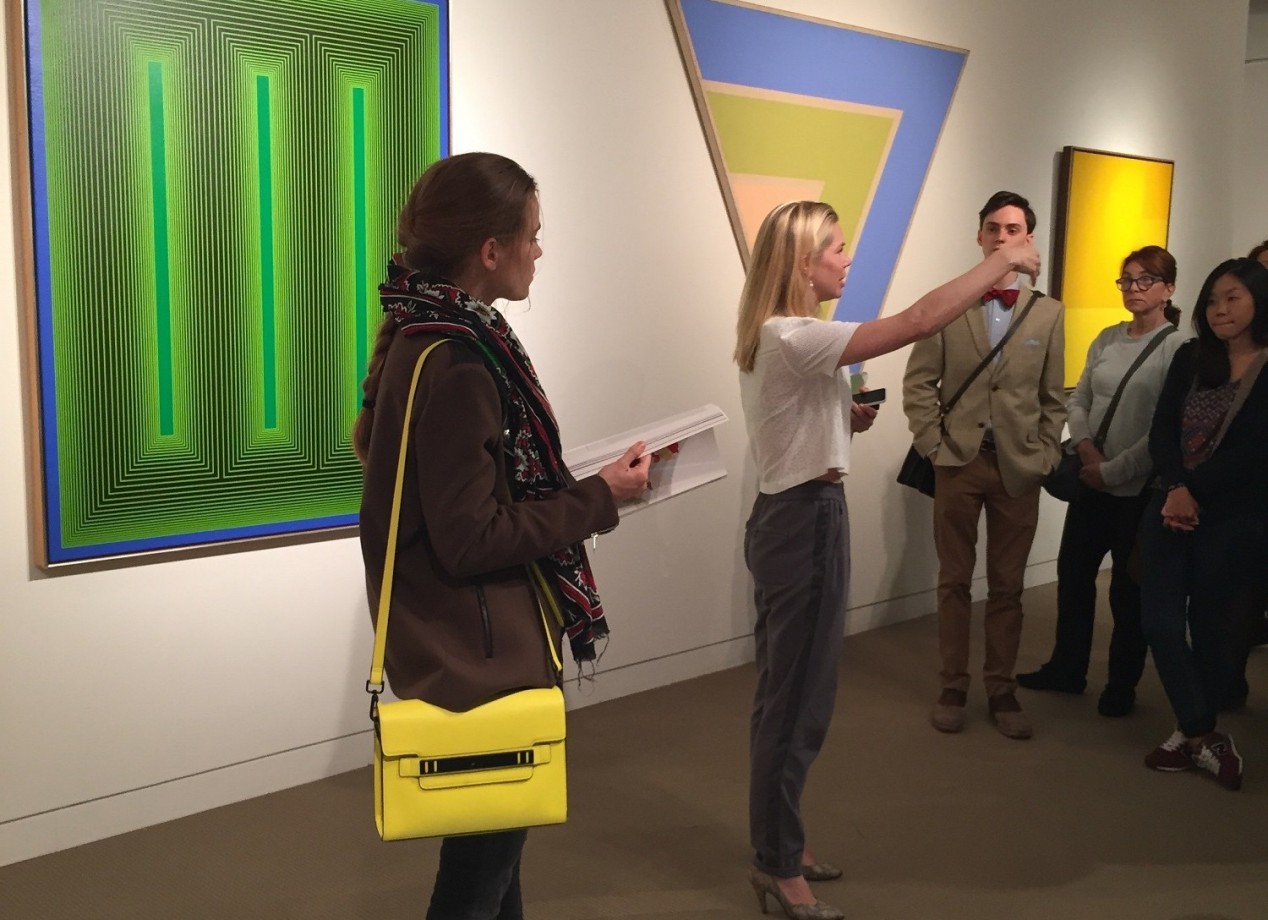 13. Courtney Kremers, Contemporary Specialist at Sotheby's , discusses works in the Contemporary Curated auction.