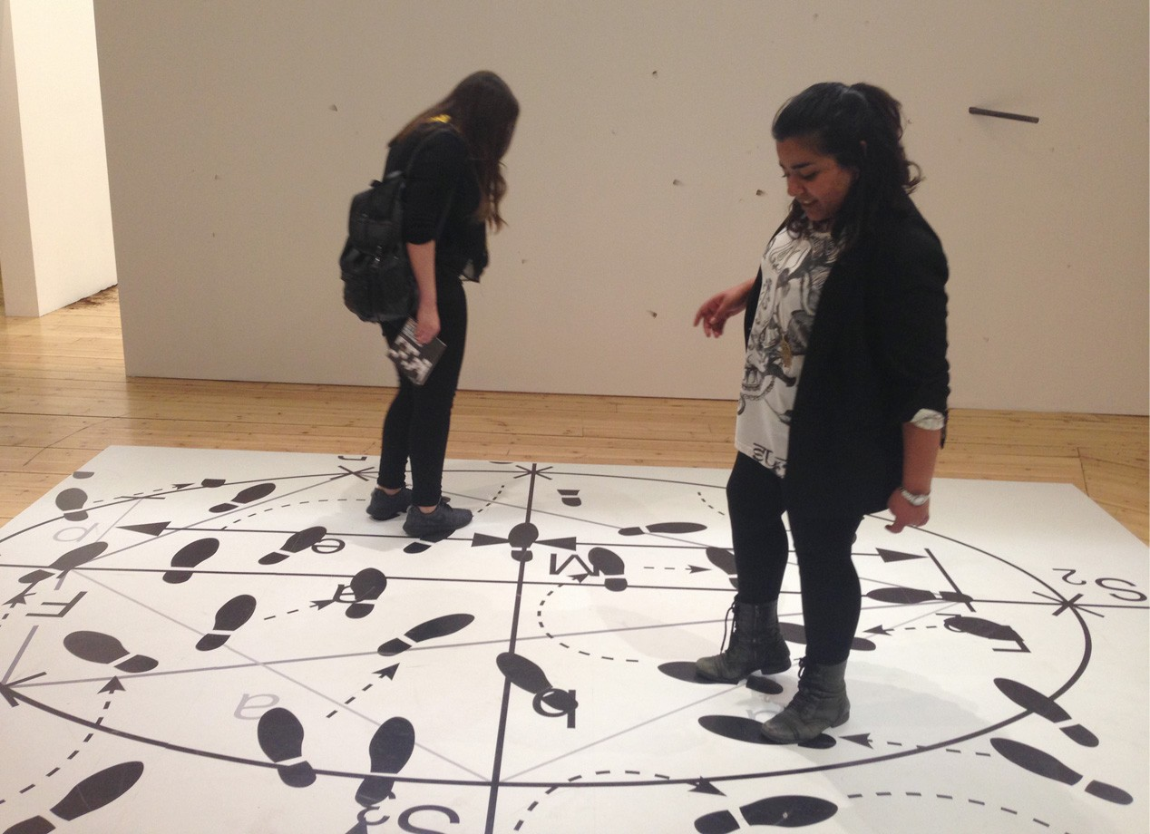 Contemporary art in London: Students exploring Manchester