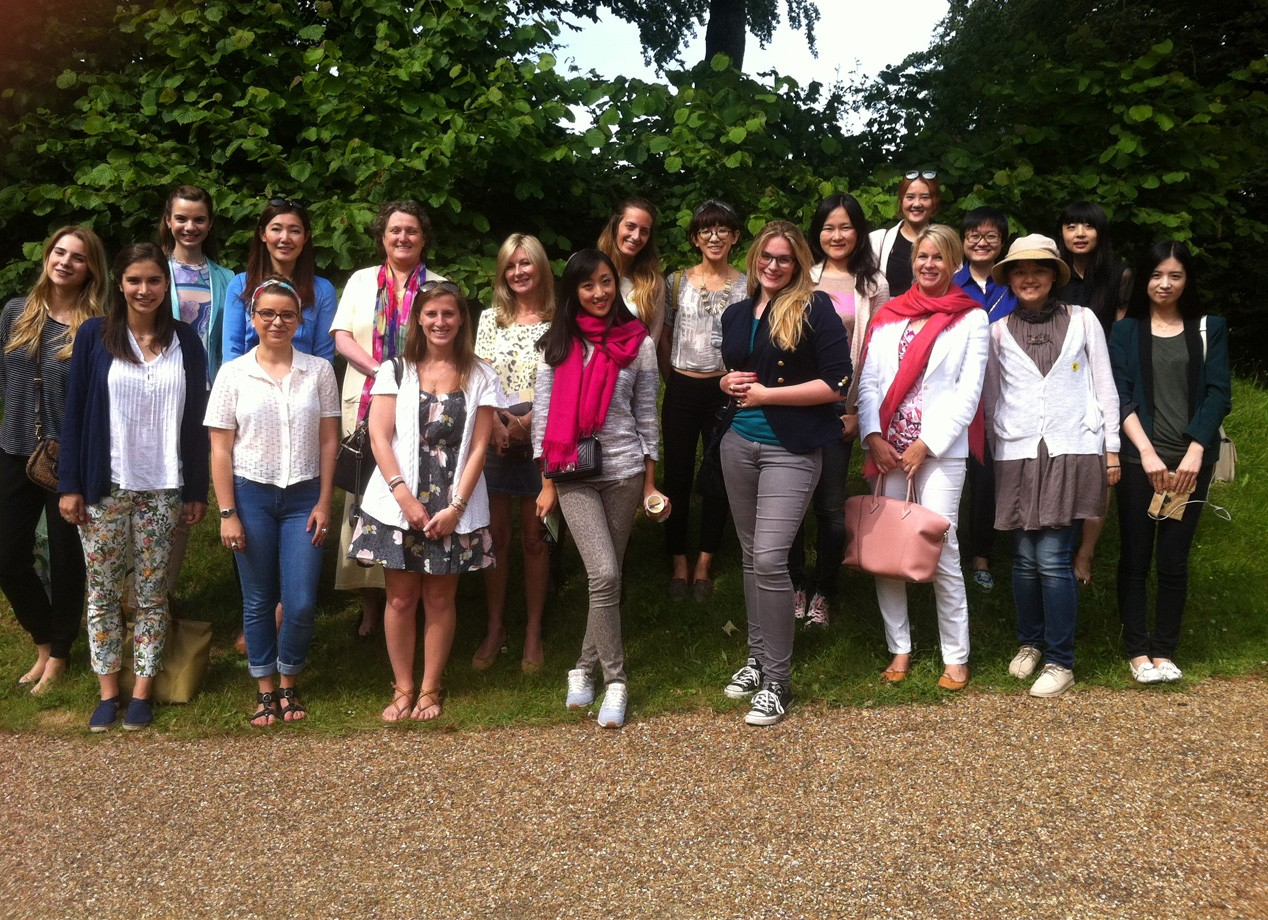 Michelangelo to Matisse: students on a blissfully sunny day out at Uppark House and Garden