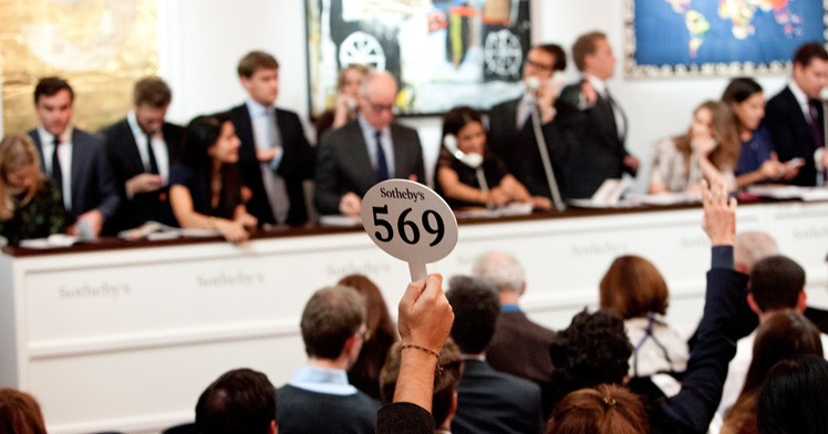 Buying and Selling Art at Auction