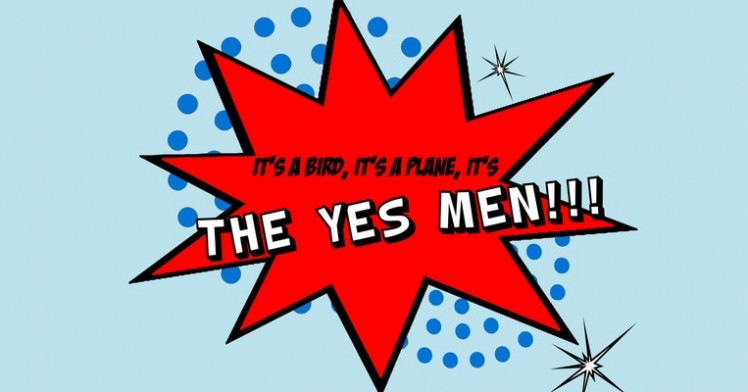 Student Curation: It's a Bird, It's a Plane, It's THE YES MEN!!!