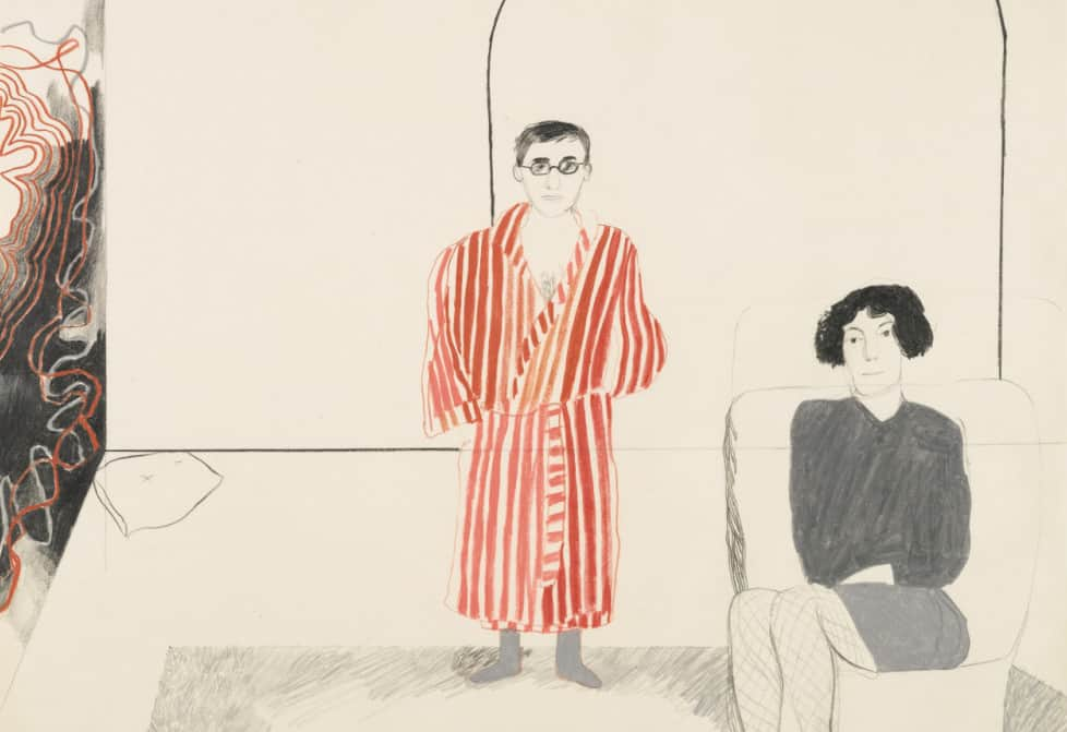 david-hockney-portrait-of-kas-and-jane-december-1965