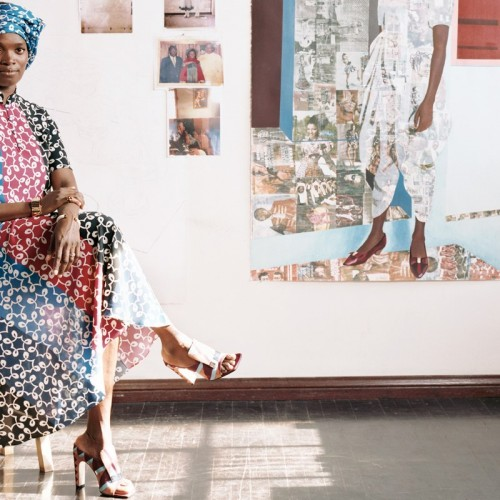 Artists Talk: A Conversation with L.A. Artists Njideka Akunyili Crosby and Charles Gaines