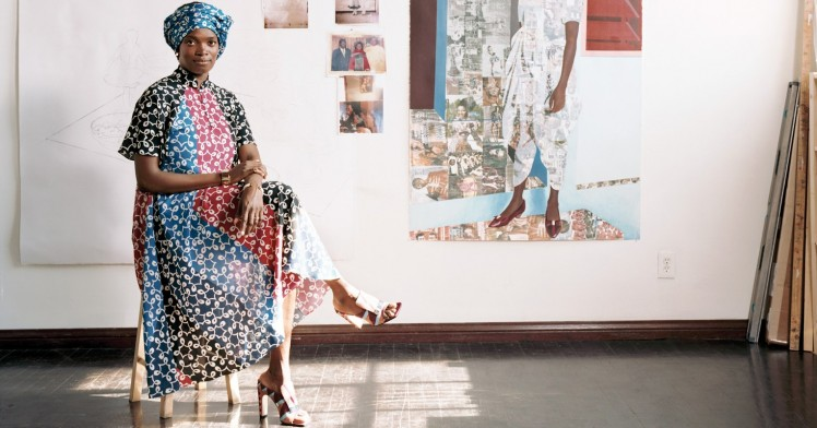 A Conversation with L.A. Artists Njideka Akunyili Crosby and Charles Gaines