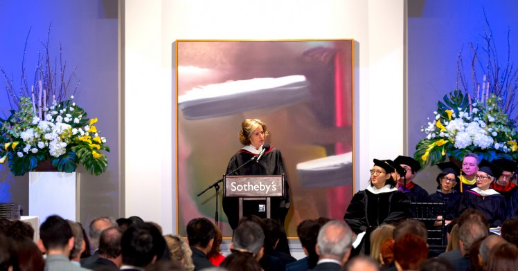 Dominique Lévy at Sotheby's Institute-NY: Commencement Address