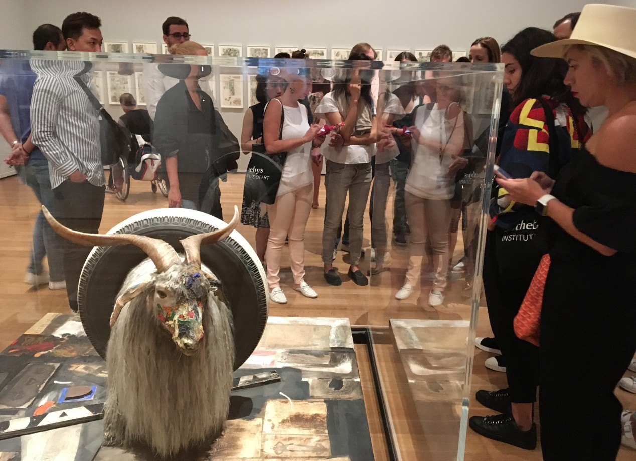 1. A tour of the the Robert Rauschenberg retrospective at the Museum of Modern Art (MoMA).