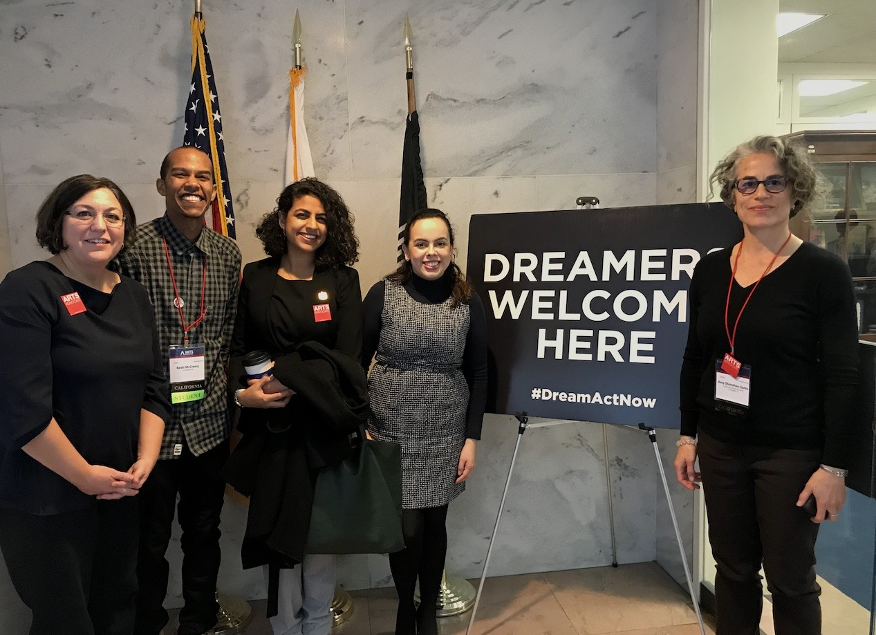 Democracy is a Practice: Students Visit Capitol Hill