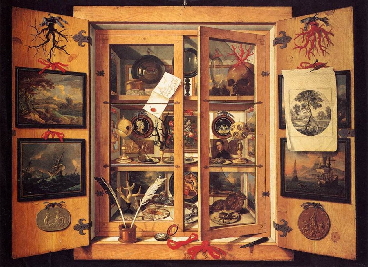 Cabinets of Curiosities and The Origin of Collecting