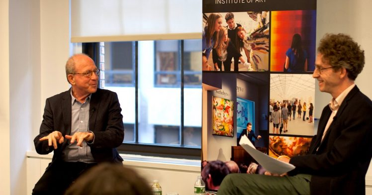 The Art World According to Jerry Saltz
