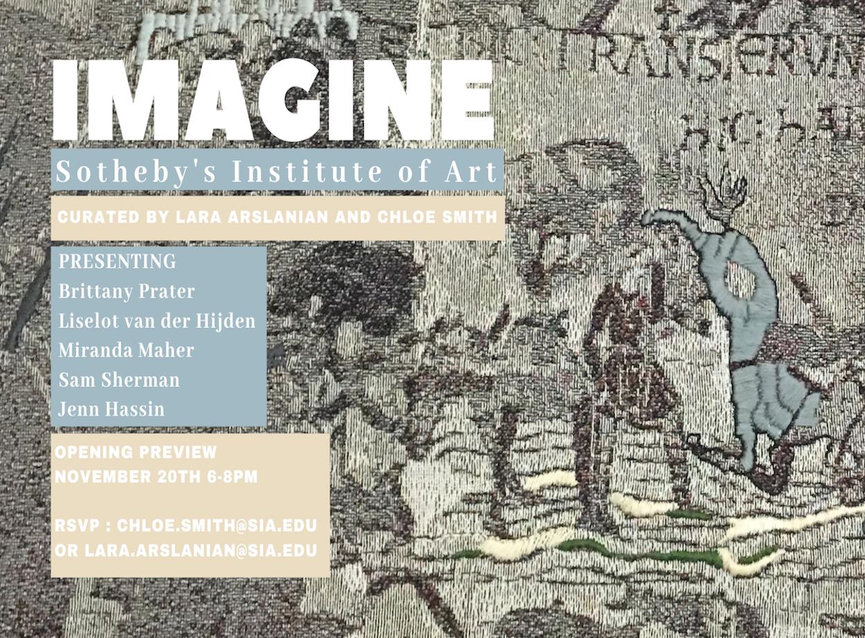 Sotheby's Institute of Art Presents 'Imagine'