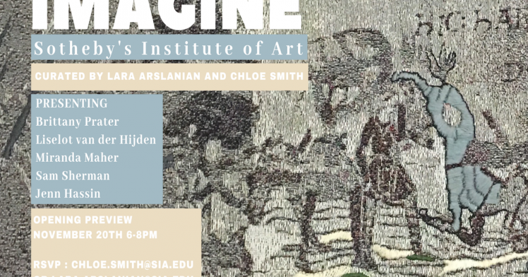 Sotheby's Institute of Art Presents 'Imagine'